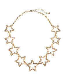 Stella & Ruby Pearly Star Necklace