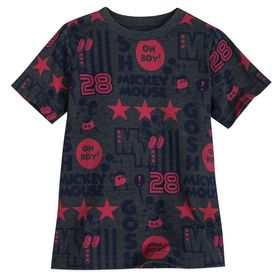 Disney Mickey Mouse All-Star T-Shirt for Boys