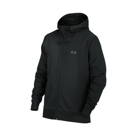 Oakley Icon Full Zip Fleece Hoodie - Blackout