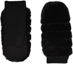 UGG All Over Faux Fur Mitten with Sherpa Lining