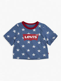 Levi's Toddler Girls 2T-4T Star High Rise Top