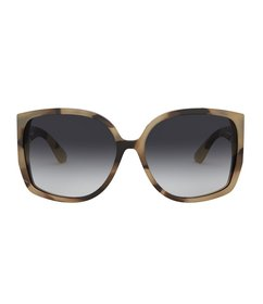 Burberry Tortoise Oversized Butterfly Sunglasses