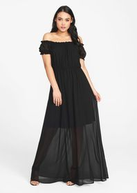 Tall Drop Shoulder Maxi Dress