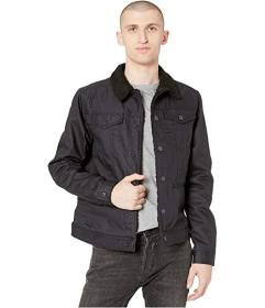 G-Star D-Staq Sherpa Slim Jacket in 3D Raw Denim