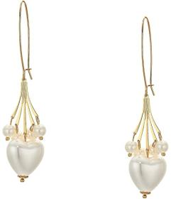 Kenneth Jay Lane 5 Row Gold Chain with Pearl Drops