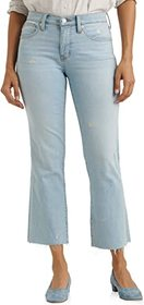 Lucky Brand Mid-Rise Ava Crop Mini Bootcut Jeans i