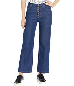 7 For All Mankind Luxe Vintage Cropped Alexa in Fa