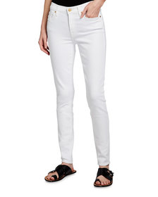7 For All Mankind Gwenevere Mid-Rise Ankle Jeans w