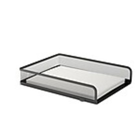 TRU RED™ Front Load Stackable Metal Letter Tray, M