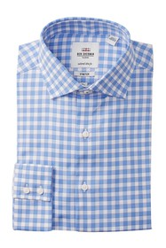 Ben Sherman Stretch Gingham Tailored Slim Fit Dres