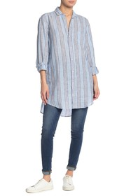 FRANK & EILEEN Mary Long Sleeve Button Front Shirt