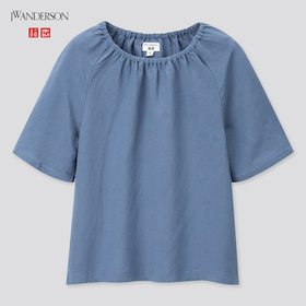 Girls Gathered Short-Sleeve Blouse (Jw Anderson),