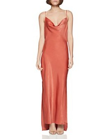 BCBGENERATION - Satin Cowl-Neck Dress