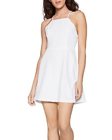 BCBGENERATION - Scallop Edge Skater Dress