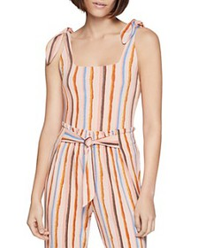 BCBGENERATION - Striped Bodysuit