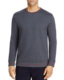 HUGO - Drick Cotton French Terry Piped Regular Fit