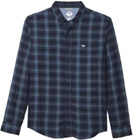 Dockers Long Sleeve Double Cloth Shirt