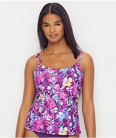 Sunsets Evening Blooms Taylor Underwire Tankini To
