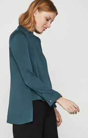 BCBG Mock Neck Tunic