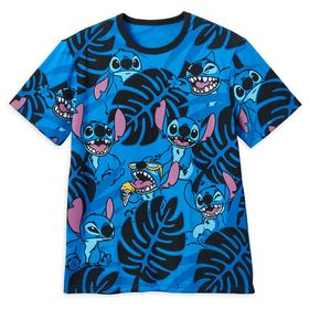 Disney Stitch Allover Print T-Shirt for Men