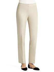 Lafayette 148 New York Ms. Crosby Pants KHAKI