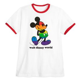 Disney Rainbow Disney Collection Mickey Mouse Ring