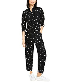 Logan Cotton Printed Jumpsuit