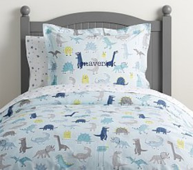 Pottery Barn Organic Maverick Duvet Cover