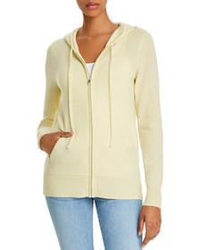 C by Bloomingdale's - Cashmere Zippered Hoodie - 1