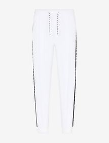 Armani TRACK PANTS WITH LOGO TAPE