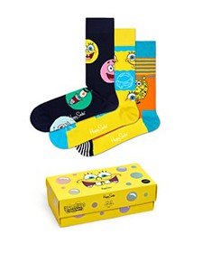 Happy Socks - SpongeBob SquarePants Cotton-Blend C