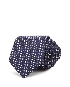 Theory - Roadster Minerva Scattered Dots Silk Skin