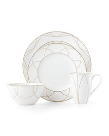 kate spade new york arch street rimmed bowl