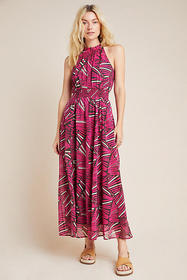 Anthropologie Kelli Halter Maxi Dress