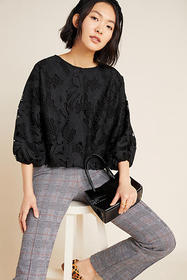 Anthropologie Annmarie Lace Blouse