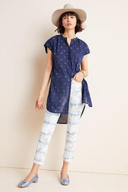 Anthropologie Pilcro Lace Tunic