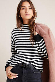 Anthropologie Sydney Balloon-Sleeved Sweater