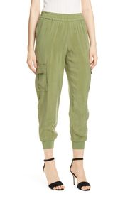 alice + olivia Dede Pull-On Cargo Joggers