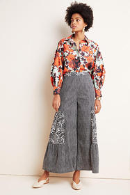 Anthropologie Pilcro Oceana Wide-Leg Pants
