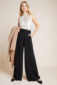 Anthropologie Ophelia Wide-Leg Trousers