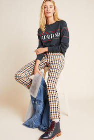 Anthropologie The Essential Skinny Kick Flare Cord