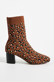 Anthropologie Silent D Camorra Knit Sock Boots