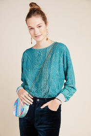 Anthropologie Kate Lace Top