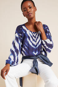 Anthropologie Marianne Tie-Dyed Top