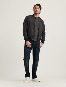 Lucky Brand Jersey Lined Bomber Jacket