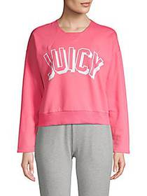 Graphic Heathered Pullover CAMELIA ROSE