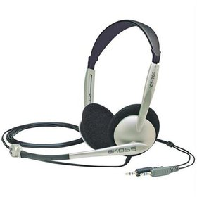 Cs-100 Stereo Pc Headset With Noise Canceling Micr