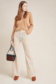 Anthropologie Kellie Striped Pants