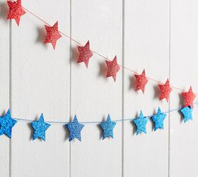 Pottery Barn Stars and Stripes Banner