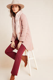 Anthropologie Misty Quilted Coat